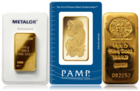 Buy Gold Bullion Bars and Coins